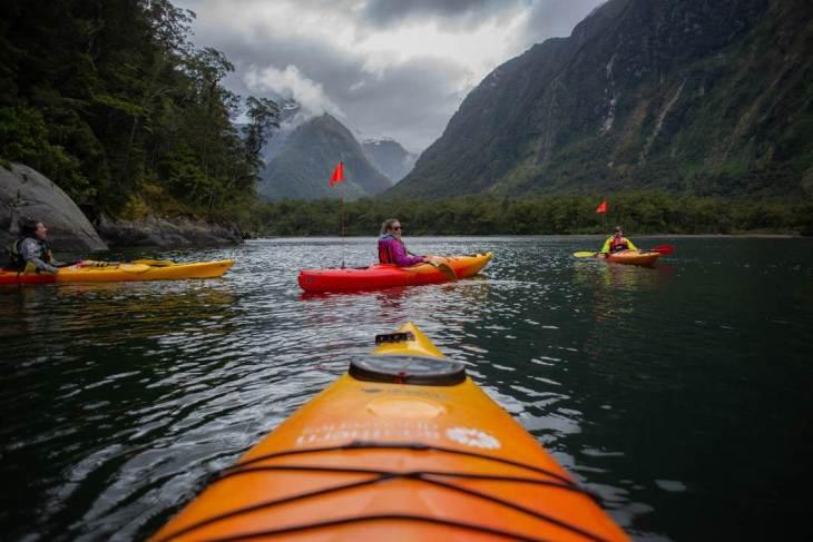 Exploring Milford Sound by Kayak