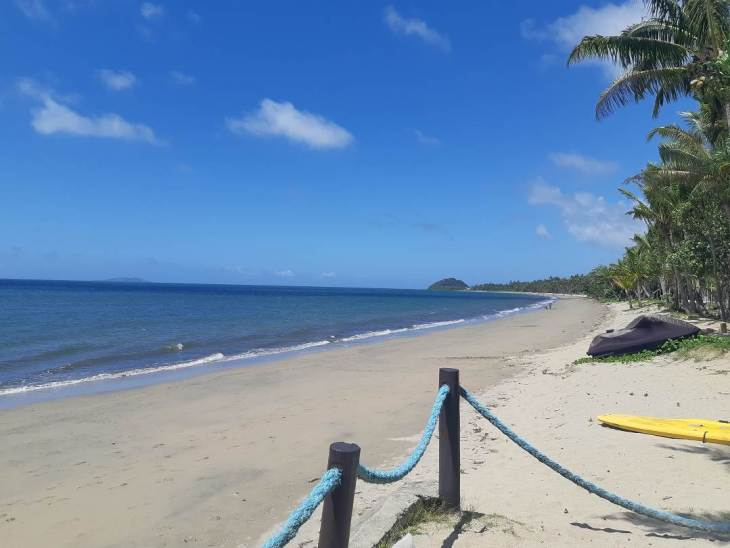 beautiful beaches on the coral coast
