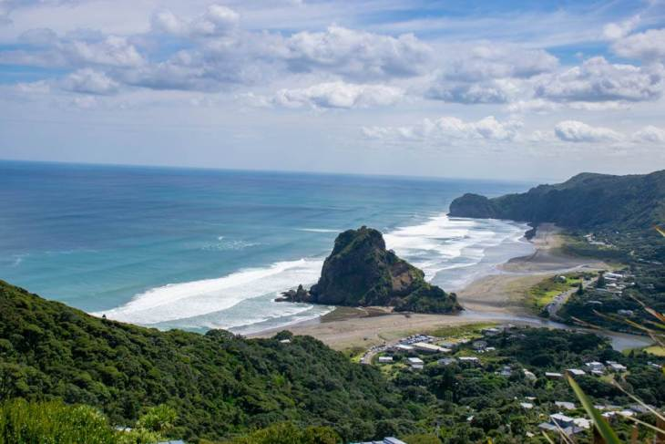 Piha is one of the best beaches in New Zealand's north island