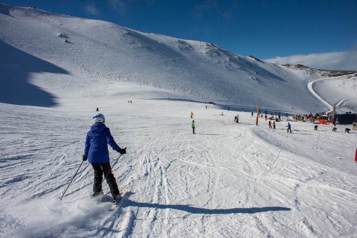 skiing during the Queenstown ski season