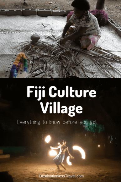fiji ulture village pin