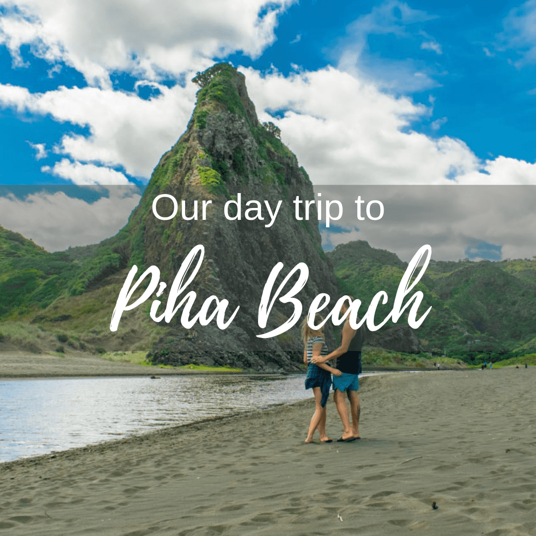 Our day trip to Piha beach new Zealand blog post