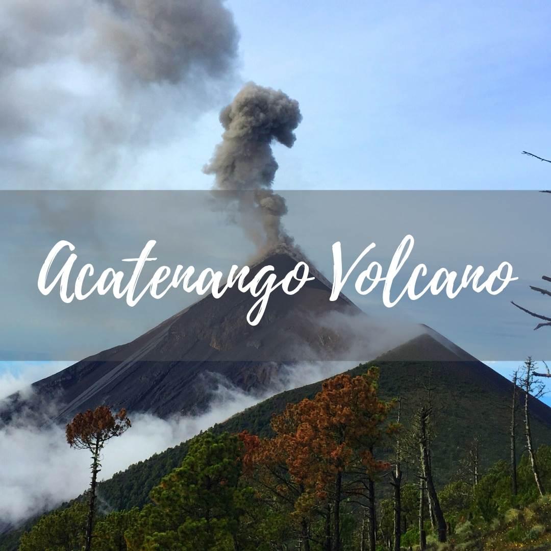 Acatenango Volcano hike on our travel blog