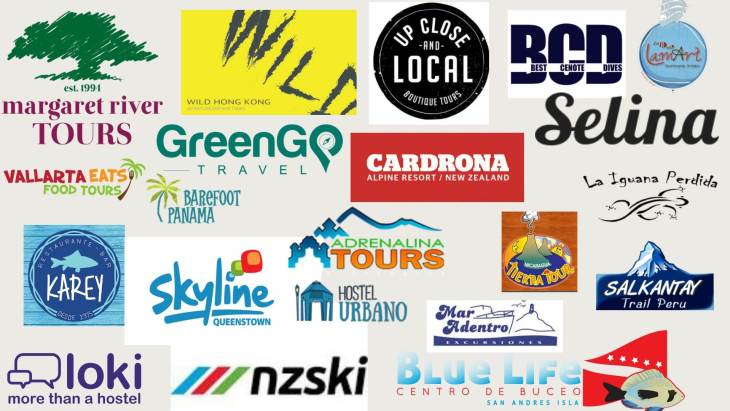 Brands we have worked with on our travel blog