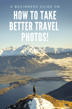 How to take better travel photos pin