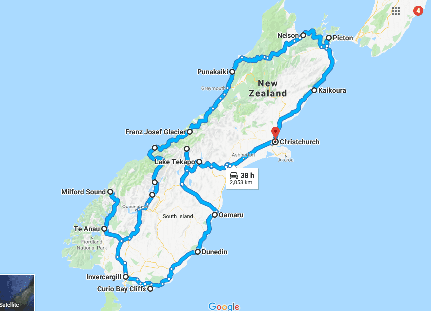 10 New Zealand Road Trip Itinerary Ideas - Plan Your New Zealand Route