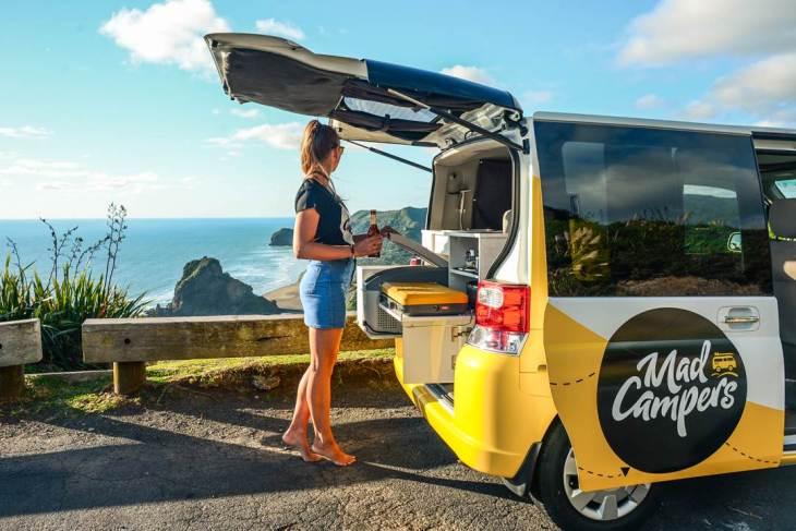 campervan rental in new zealand