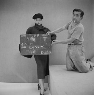 Henry Clarke, 1951 Lanvin, automne-hiver 1951 Mannequin Bettina ©Henry Clarke/Galliera.