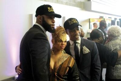 Black Panther movie screening in Newark.