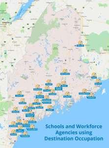 schools and agencies map