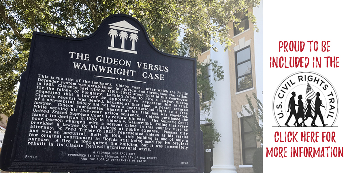 Gideon versus Wainwright - US Civil Rights Trail