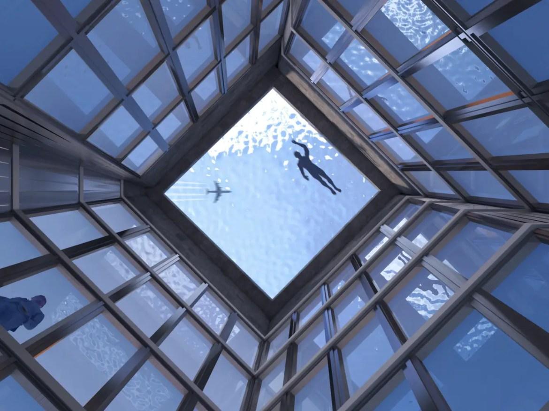 Infinity pool Londres 2