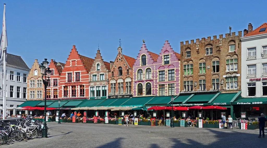 Grand place Bruges un jour