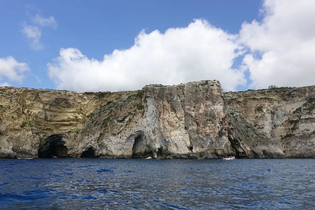 grotte bleue malte trois jours