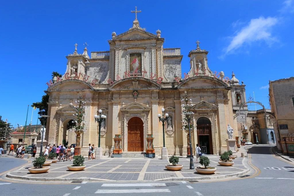 Cathédrale à Rabat (Malte)