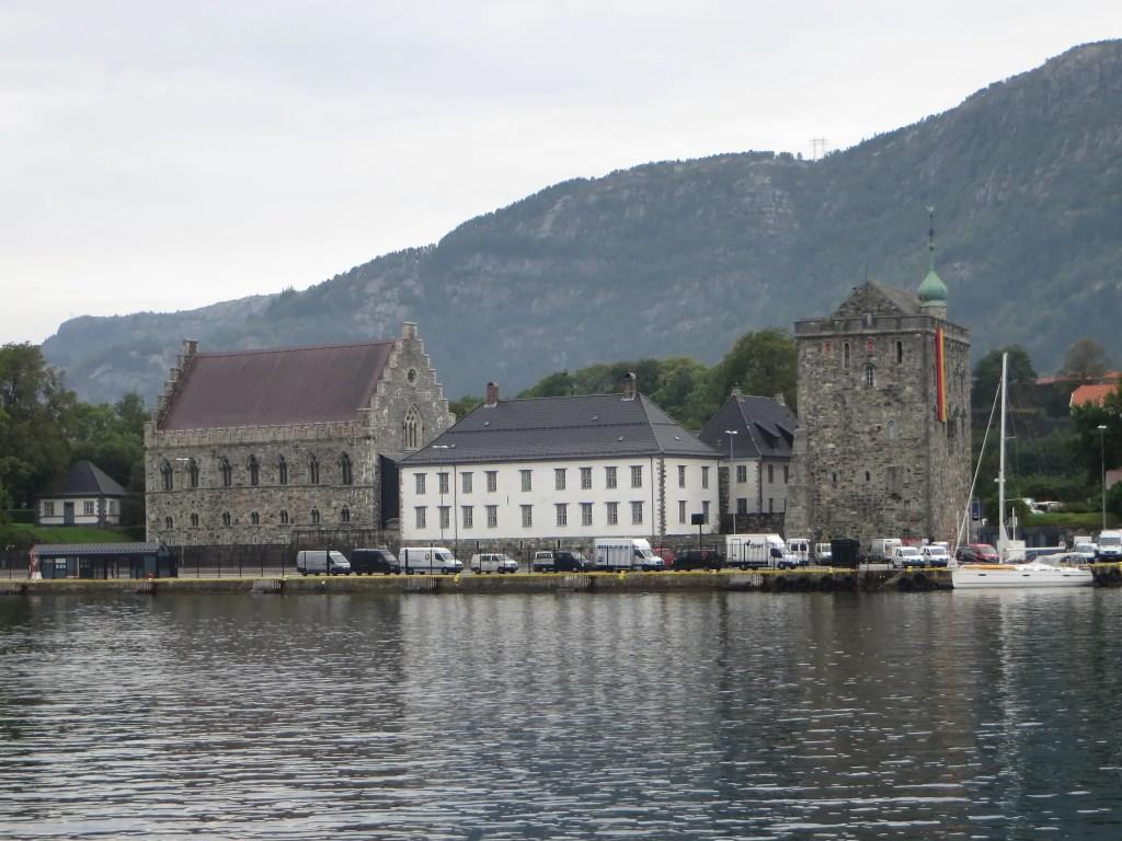 Forteresse de Bergenhus à Bergen