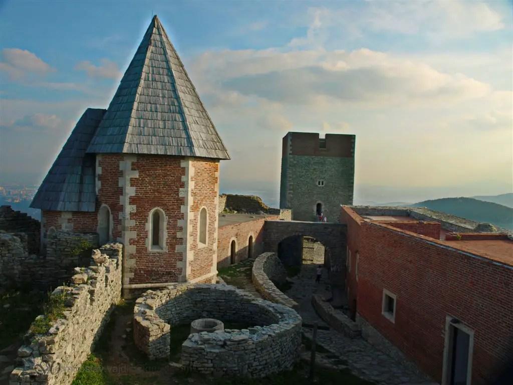 Château de Medvedgrad à Zagreb