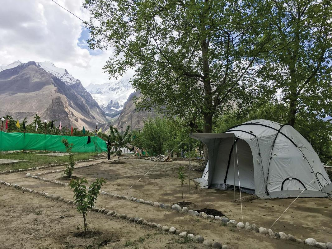 Camp in Karimabad