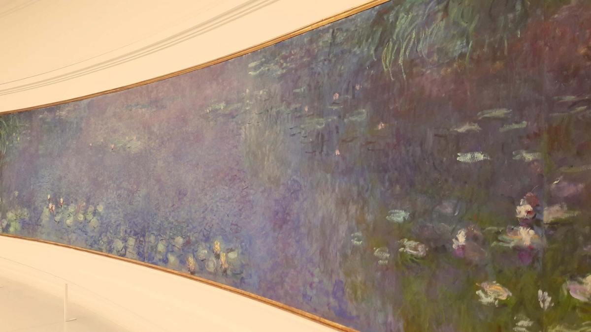 Monet's Water Lilies at l'Orangerie