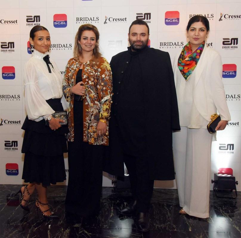Zunaira Taimur, Saleyha Abbas, Fahad Hussayn and Sidra Khalid