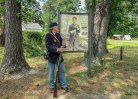 Costumed interpreter at Fort Lincoln, Point Lookout State Park