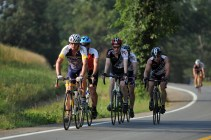 Cyclists on St. Mary's County's back roads