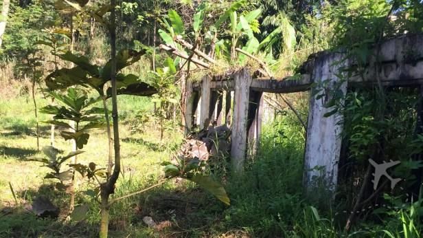 Abandoned building near Merapi