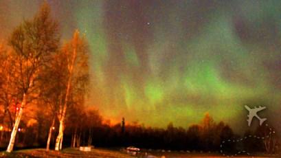 Aurora Borealis from Anchorage, Alaska
