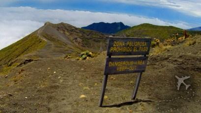 Summit of Irazu Volcano