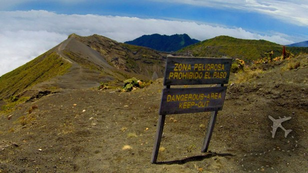 Summit of Irazu Volcano