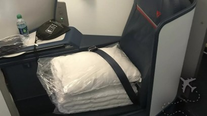 Delta One pillows and comforter