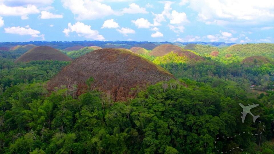 Chocolate Hills on Bohol Island