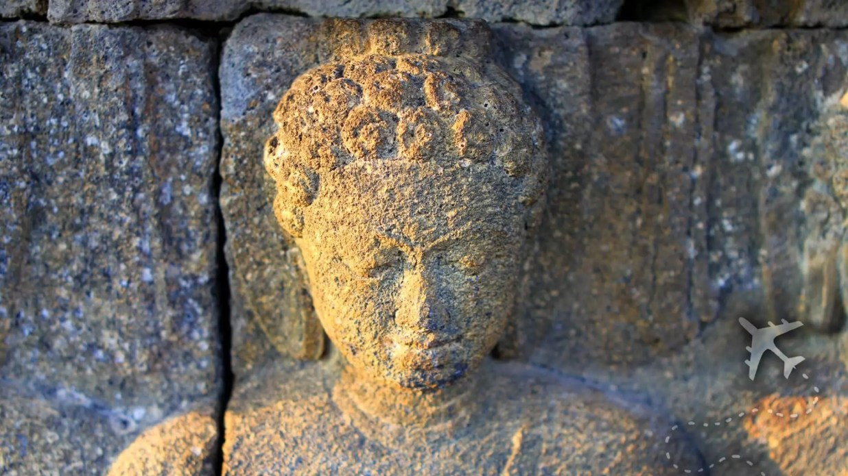 Borobudur buddah