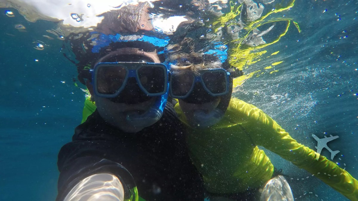 Sean Brown and Ashlinn Holley in Cebu, Philippines