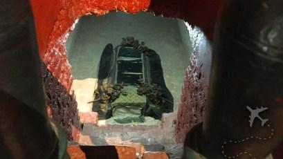 Crypt under Basilica de San Francisco Lima