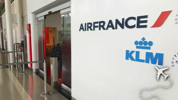 Skyteam Air France Lounge at IAD