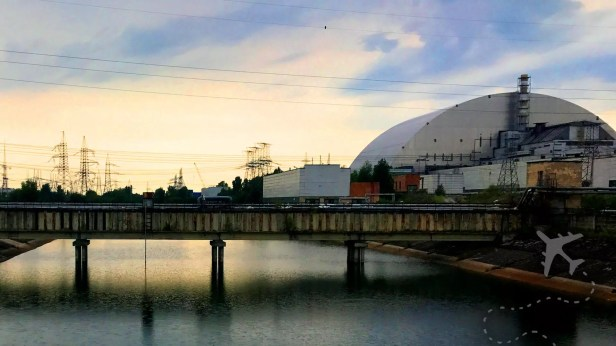 Chernobyl Nuclear Power Plant New Safe Confinement structure