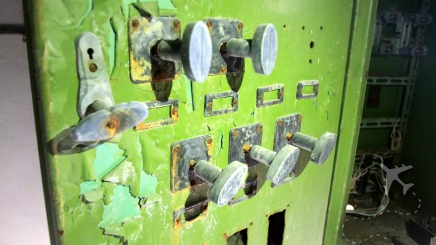Abandoned equipment in Pripyat