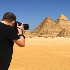 Sean Brown in Cairo, Egypt