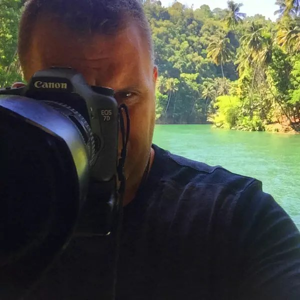 Sean Brown in Bohol, Philippines
