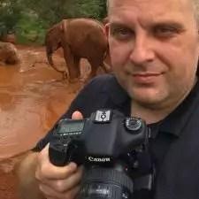 Sean Brown in Nairobi, Kenya