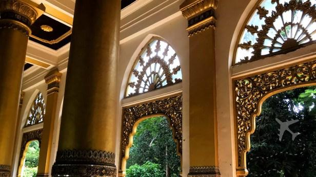 Inside Shwedagon Pagoga Myanmar