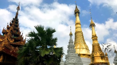 Buddhist Temple Myanmar