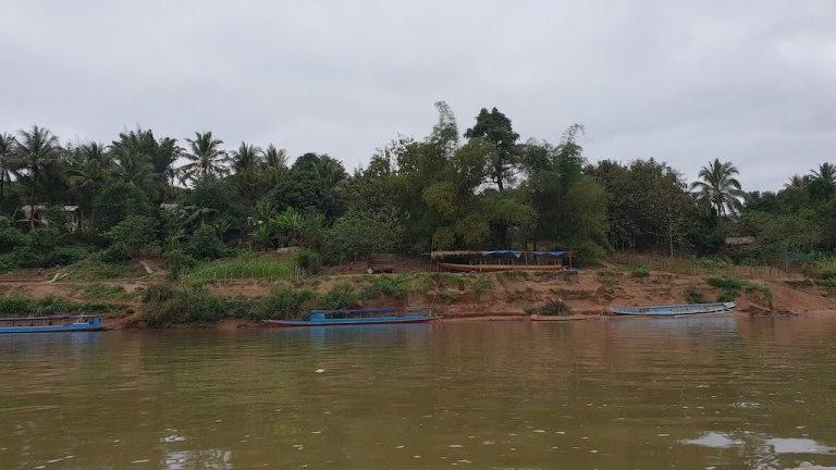 Trajet en bateau Nong Khiaw - Muang Ngoy
