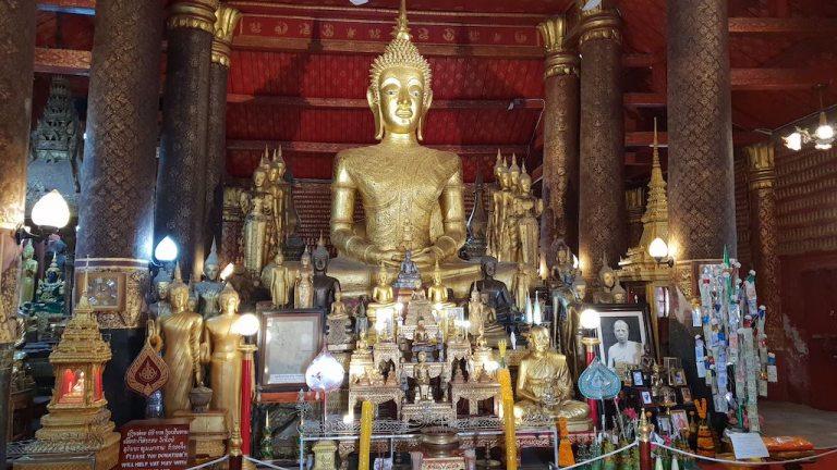 temple Luang Prabang Wat Mai