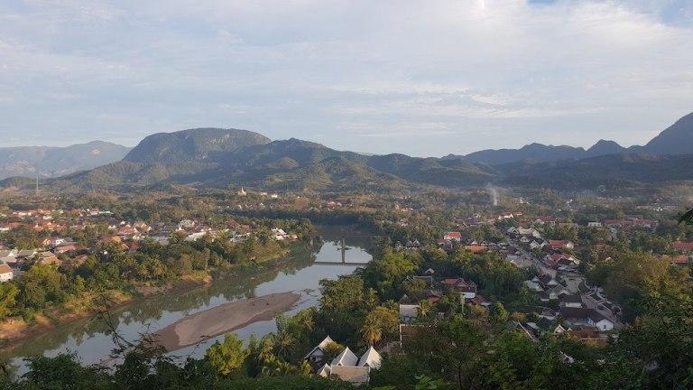 Vue Mont Phousi Luang Prabang