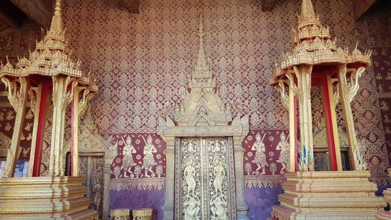 Temple Wat Sensoukharam Luang Prabang