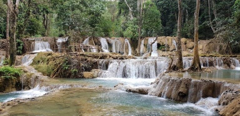 Cascade Tad Sae Luang Prabang