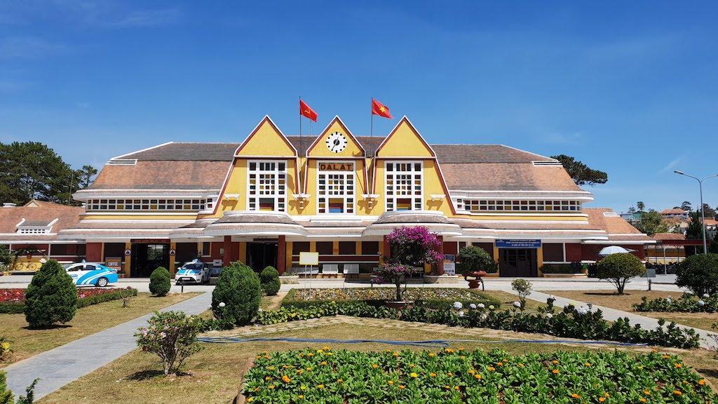 ancienne gare de Dalat