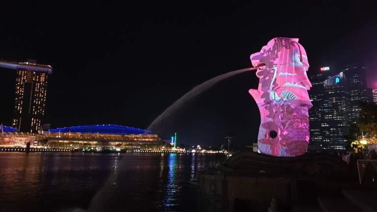 festival de lumières : I-light Singapour